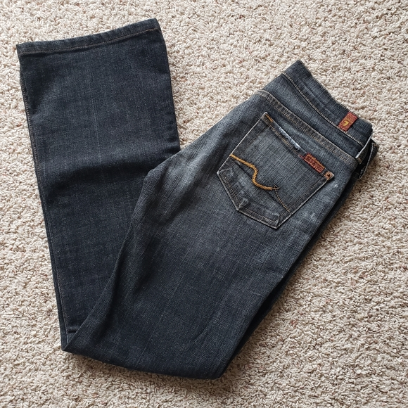 EUC 7 for all man kind jeans size 26